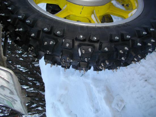 La roue du 1300 Z