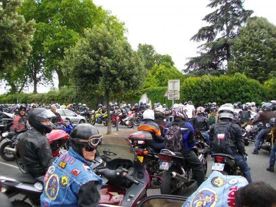 5000 MOTOS SELON LES ORGANISATEURS